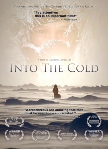 Into the cold box art front flat