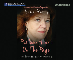 Put Your Heart on the Page final Audiobook front