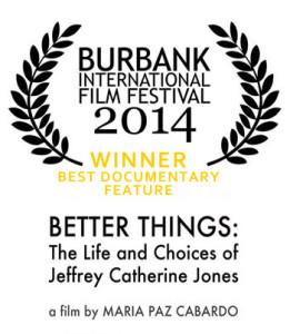Burbank AWARD laurels