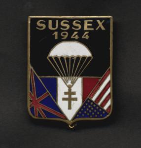 Insignes SUSSEX Gd format
